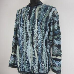 COOGI Australia Mens XLT Mercerized Cotton Sweater